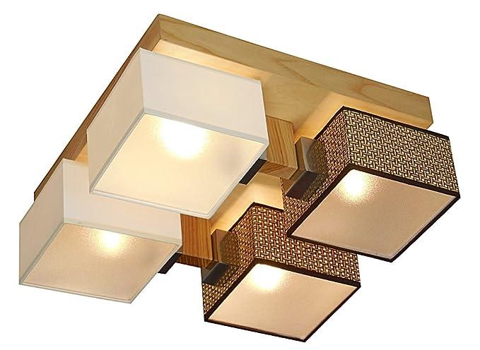 Plafoniere Da Soffitto In Legno : Lampada da soffitto wero design barsa di b