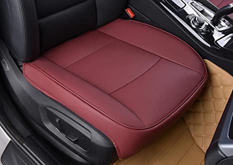 amazon com edealyn luxury car interior pu leather car seat cushion
