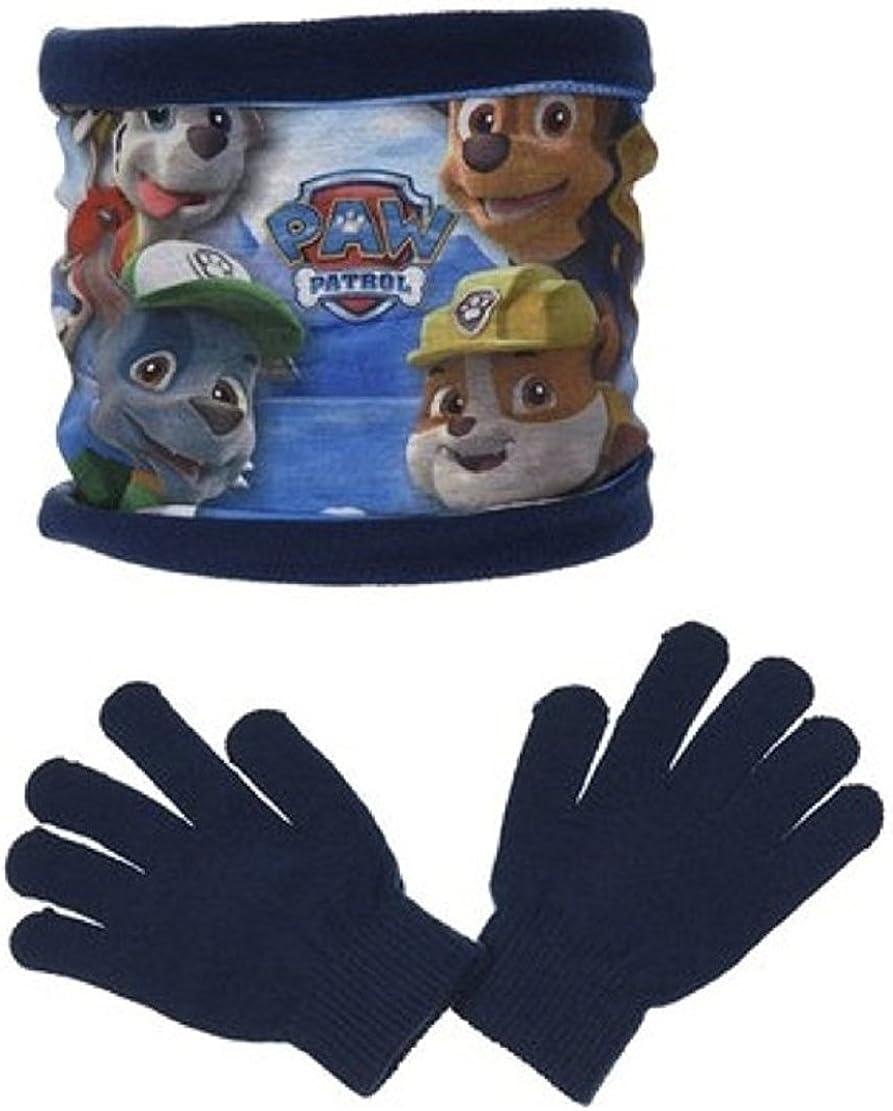 Schal und Handschuhe Set Nickelodeon Paw Patrol Kids Winter Snood