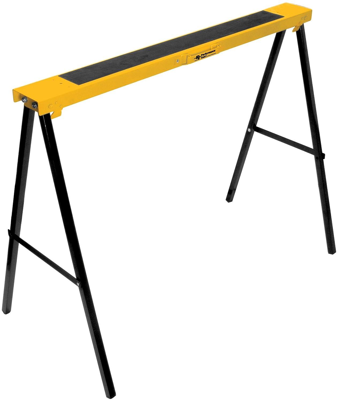 Performance Tool W54009 Heavy Duty Plastic Sawhorse Set (450 lb capacity, 900 lbs Total) Wilmar Corporation
