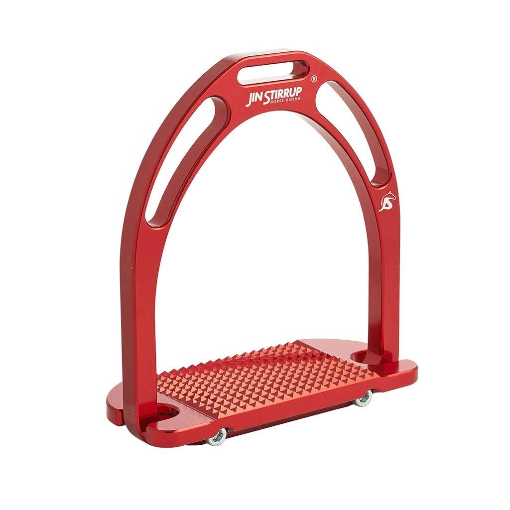 Red Jin Stirrup Aluminium Stirrups