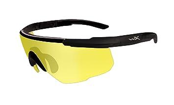 Wiley X Schutzbrille Saber Advanced Im Set mit 2 Gläsern, Matt Schwarz, M/XL, 305