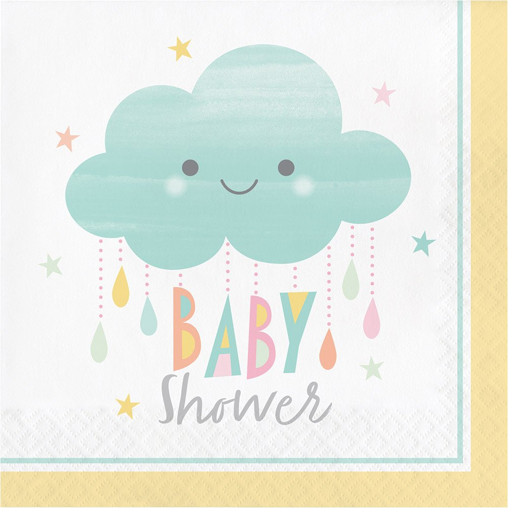 Serves 8 Guests Sunshine Baby Showers Theme Party Supply Set