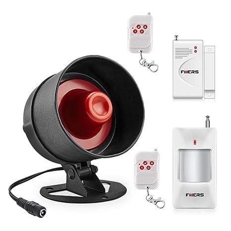 Amazon.com: Yongse Fuers - Sistema de alarma de sonido para ...