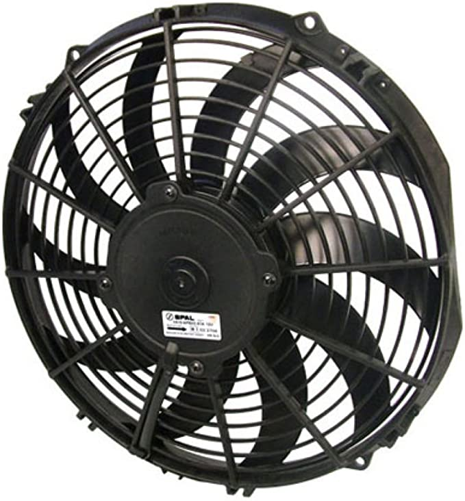 Spal 30101505 Pusher Fan 12In Medium Profile ; For Use W// 25Amp Fuse @ 13V
