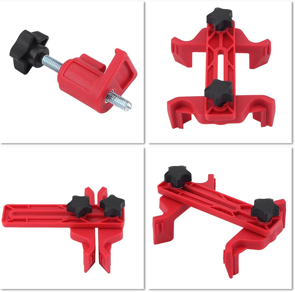Cam Clamp,9pcs Universal Car Auto Dual Cam Camshaft Engine Timing Sprocket Gear Locking Tool Kit Cam Gear Clamp and Holder Set