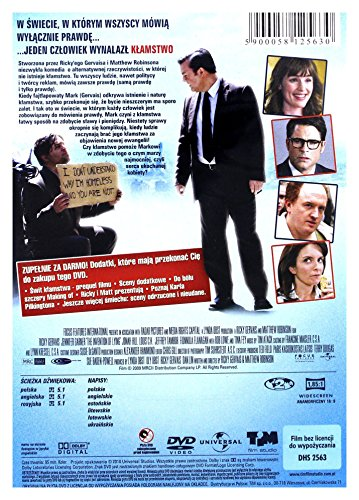The Invention of Lying [DVD] (English audio. English subtitles)