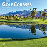 Golf Courses 2019 12 x 12 Inch Monthly Square Wall Calendar, Golfing Sport (Multilingual Edition)