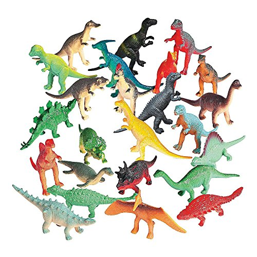 72 mini dinosaurs to excavate!