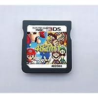 482 i 1 spelpatron multicart, Game Pack-kort kompatibel med Super Combo NDS DS 2DS ny 3DS XL