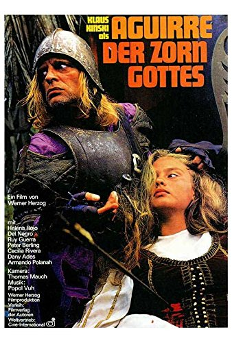Aguirre, the Wrath of God Poster German Klaus Kinski Ruy Guerra Del Negro