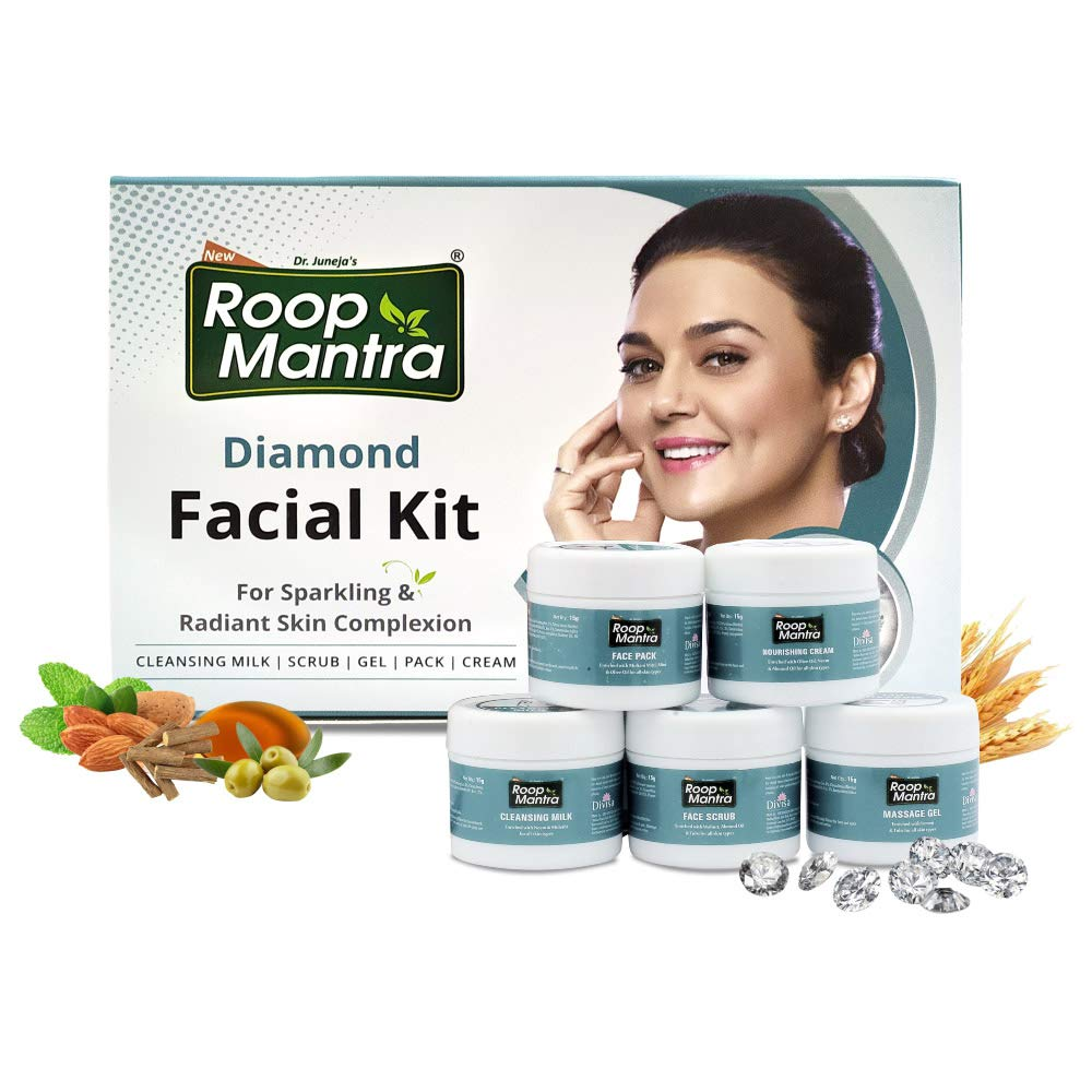 Roop Mantra Diamond Facial Kit, 75 g