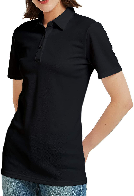 Safort Women Shirt/Polo Shirt, 2 Clothes Length for Regular/Tall, UPF 50+ UV Sun Protection Clothing, Short Sleeve T-Shirt: Clothing