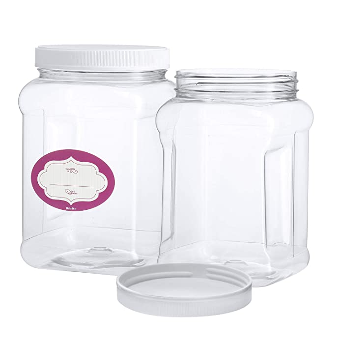 Top 10 Square Plastic Food Storage Jars