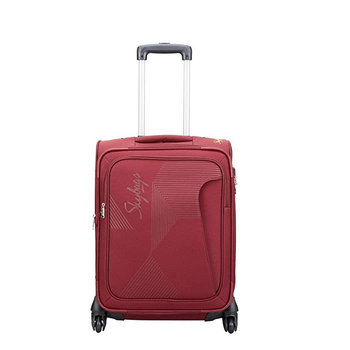 [Apply coupon] Skybags Footloose Hamilton 55 cms Red Softsided Carry-On (STFHM55EWRD)