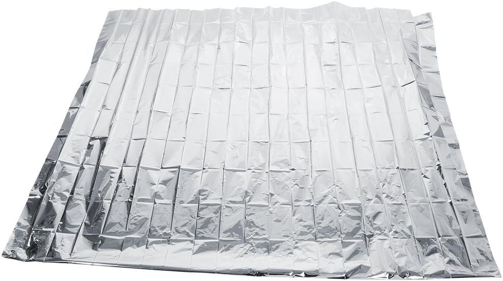 Pellicola Riflettente in Mylar Argentata CLAUKING 210 x 120 cm per Piante da Giardino coperture Riflettenti Serra