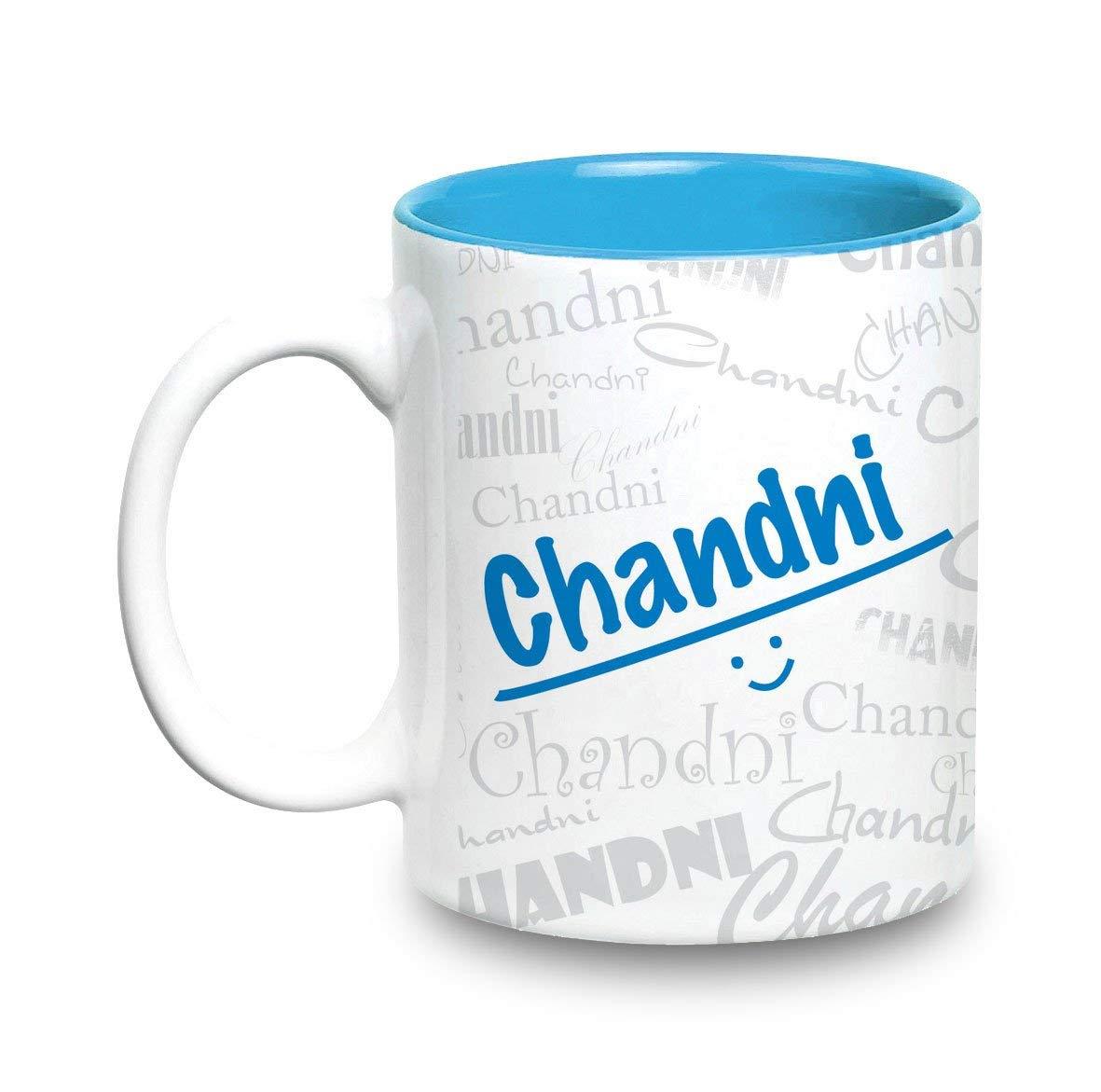 Buy Hot Muggs Me Graffiti Mug Chandni Personalised Name Ceramic 315ml 1 Unit Online At Low Prices In India Amazon In