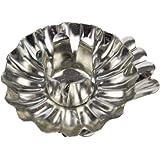 Baumkerzenhalter Clip in Schweifform 10 er Set Made in Germany, Farbe:Silber