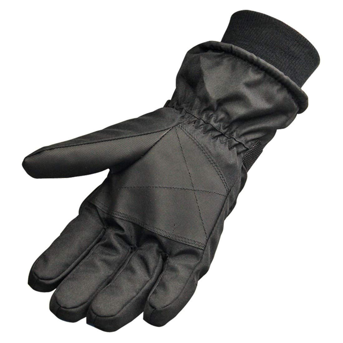 Brown BYMHH Winter Mens Gloves Warm Gloves