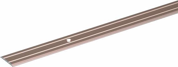 900 x 34 mm edelstahlfarbig eloxiert Aluminium GAH-Alberts 487041 /Übergangsprofil Pro