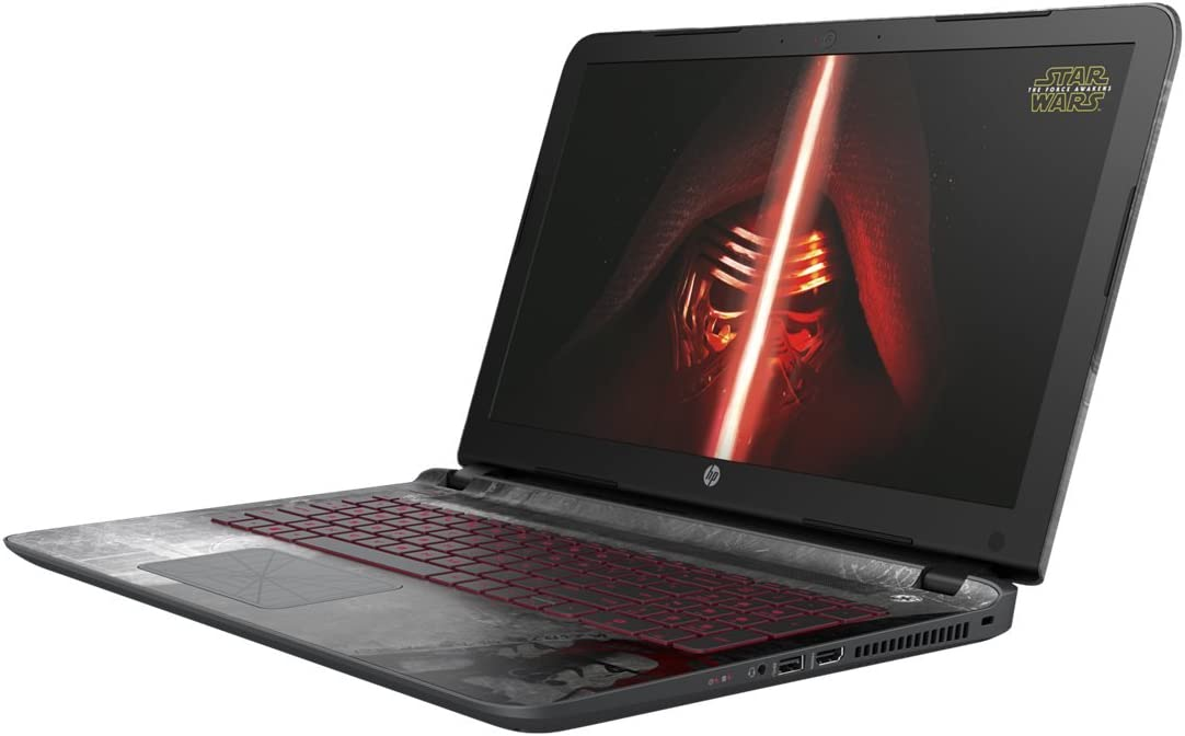Amazon Com Hp Star Wars Special Edition 15 An050nr 15 6 Inch Laptop Intel Core I5 6 Gb Ram 1 Tb Hdd Computers Accessories