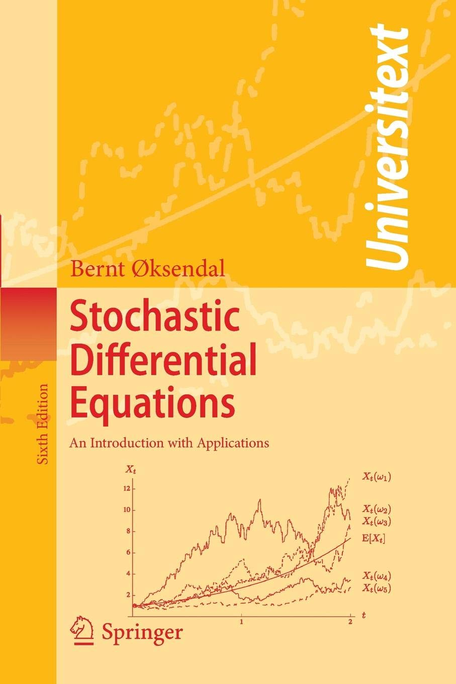 Stochastic Differential Equations: An Introduction with