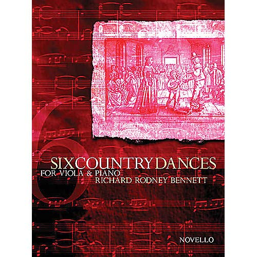 Country Viola - 6 Country Dances (Viola and Piano Accompanimnet) Music Sales America Series Pack of 2