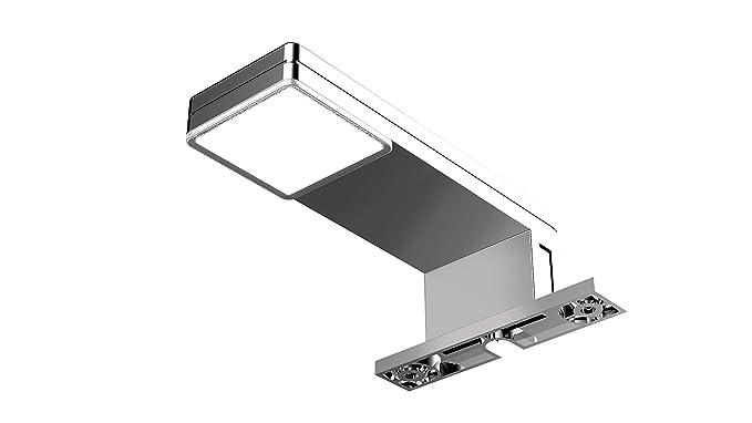 Solupa lampada applique led da specchio per bagno orion driver