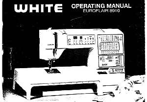 Descargar Pdf-File Singer 8910 Máquina de coser manual de ...