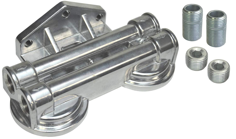 Derale 25707 Dual Remote Filter Mount Kit