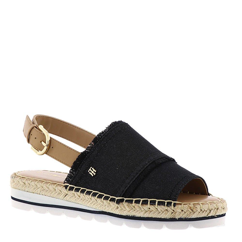Tommy Hilfiger Grove 2 Women's Sandal B07CTLWM4G 6 B(M) US|Black-tan