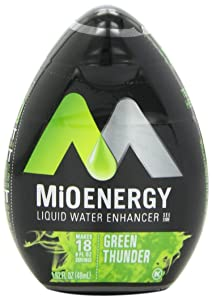 MiO Energy Liquid Water Enhancer, Green Thunder, 1.62 Ounce (Pack of 12)