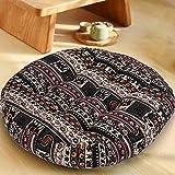 HIGOGOGO Bohemian Floor Cushion, Square Meditation
