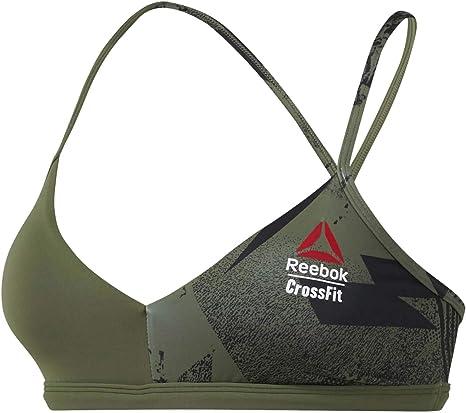 Reebok Rc Micro Bra Reggiseno Sportivo Donna