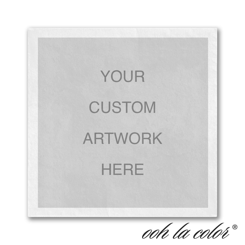 1950pk Custom Full - Color Napkin-Personalized Napkins