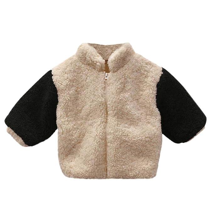 Chaquetas y Abrigos, ❤ Zolimx Niños Recién Nacidos Bebé Niña Espesar Chaqueta Esponjosa Abrigo Outwear Cardigan Ropa Caliente: Amazon.es: Ropa y ...