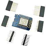 Aihasd Wemos D1 Mini V2 NodeMcu 4M Octets Lua WIFI IOT Internet de las Cosas Conseil de développement Basé sur ESP8266 Pour Arduino