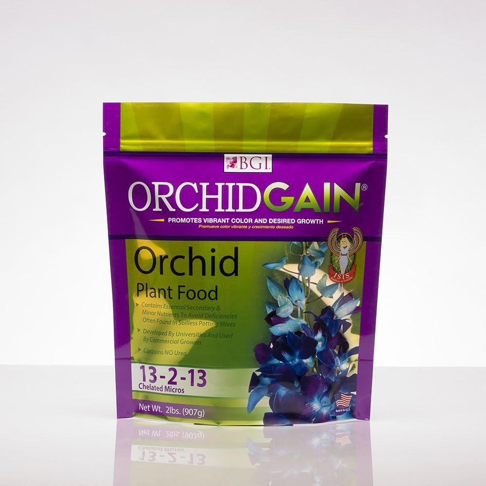 ORCHIDGAIN 2lb Bag, Orchid Fertilizer