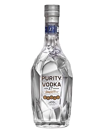 Purity Super 17 Premium Organic Vodka, 70 cl: Amazon co uk