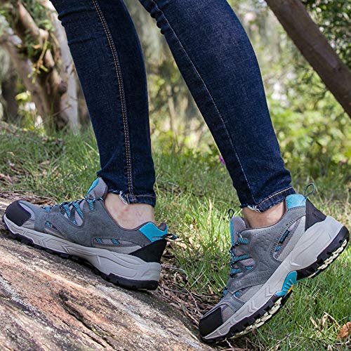 Spring Outdoor Shoes resistant Sports Walking Non Breathable Women's And slip Hiking Summer Wear Moonlight Shoes Gray qRgxrTRntw