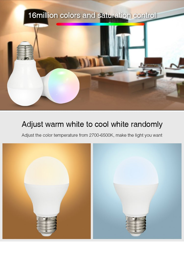 A19 50W Equivalent Timing Function SUNERIC WiFi Smart Bulb 1 Pack Remote Control Your Appliances Anywhere Compatible with Alexa for Voice Control//Google Assistant 16 Million Colors Changing
