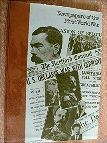 Newspapers Of The First World War Amazoncouk Ian Williams