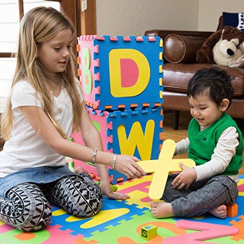 Mota Alphabet Abc Mat Eva Foam Anti Slip Foam Jigsaw