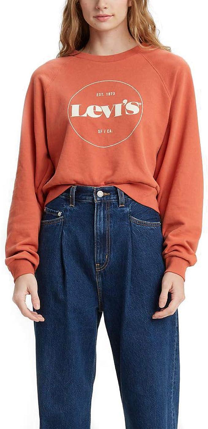 NEW Levi/'s Men/'s Graphic Crew Sweatshirt Raglan size 2XL