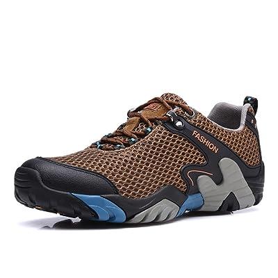 2017 Chaussures De Sport D'hiver D'automne Des Hommes Chaussures De Marche Confortables De Maille Antidérapantes 39-44
