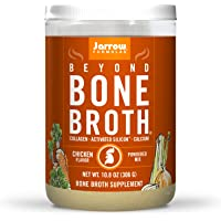Jarrow Formulas Beyond Bone Broth, Chicken Flavor - 10.8 oz Powdered Mix - Nutritional Take on Traditional Bone Broth…