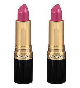 Revlon Super Lustrous Lipstick Shine, Berry Couture 0.15 oz (Pack of 2)