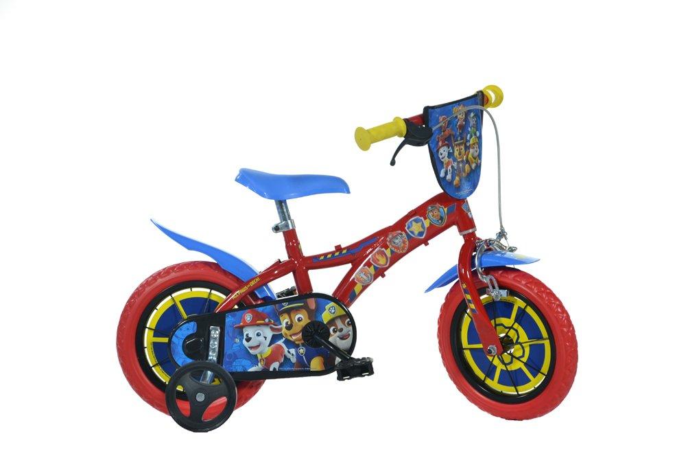 Dino Bikes Jungen Kinderfahrrad Fahrrad, Rot und Inch blau, 12 Inch und de6180