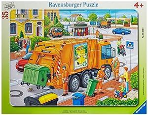 Ravensburger 06346 - Müllabfuhr - 35 Teile Rahmenpuzzle