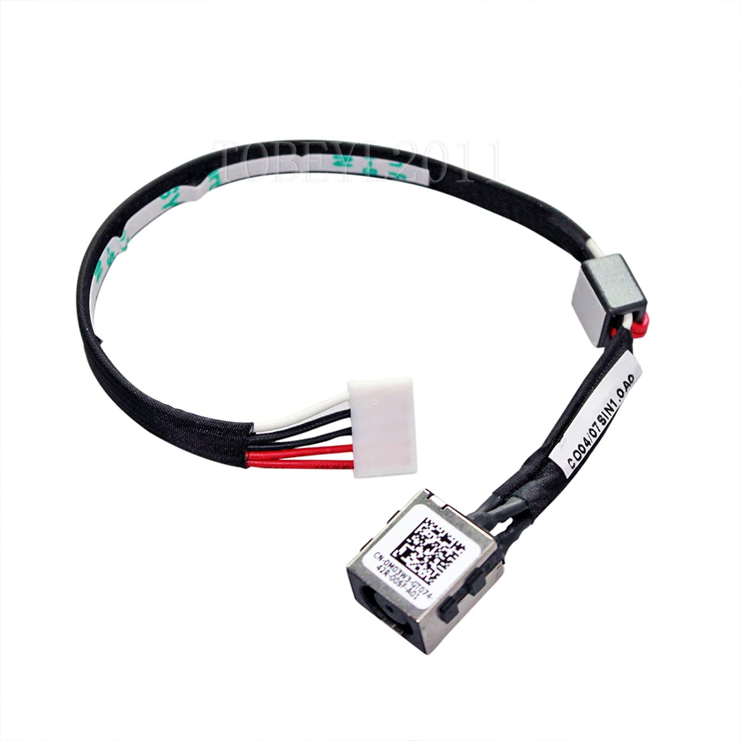 Gintai DC Power Jack Port Cable Replacement for Dell Inspiron 15-5545 15-5547 15-5548 M03W3 0M03W3 P39F